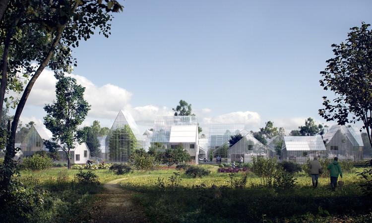 Esta villa autosostenible podría ser el futuro de la vida semi-urbana, © EFFEKT