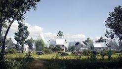 Esta villa autosostenible podría ser el futuro de la vida semi-urbana