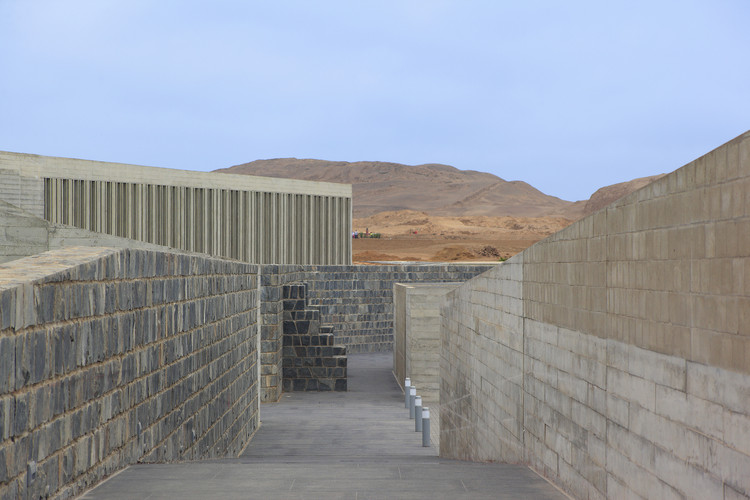 Museo de Pachacamac. Llosa Cortegana Arquitectos. Image © Juan Solano Ojasi