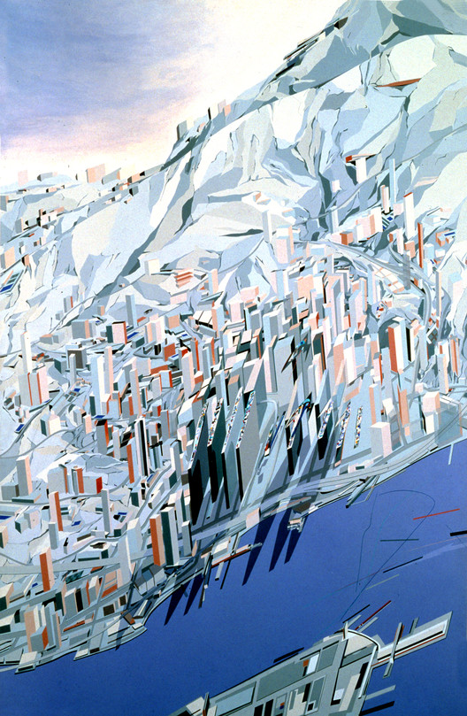 The Peak - 1983. Image Courtesy of Zaha Hadid