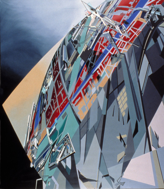 The World (89 Degrees) - 1983. Image Courtesy of Zaha Hadid