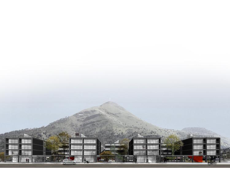 La grilla y el archipiélago / Guillermo Hevia + Tomás Bressan. Image Cortesía de LC50