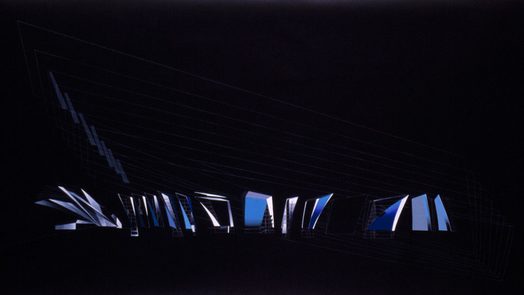Hafenstrasse Development - 1989. Image Courtesy of Zaha Hadid