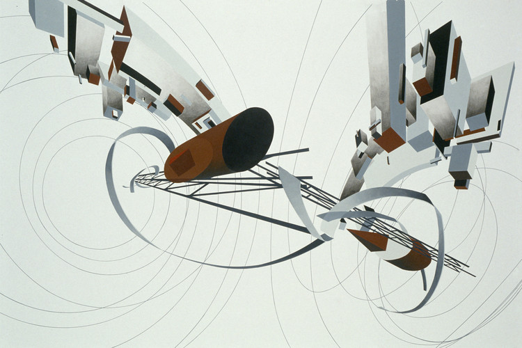 Great Utopias - 1992. Image Courtesy of Zaha Hadid