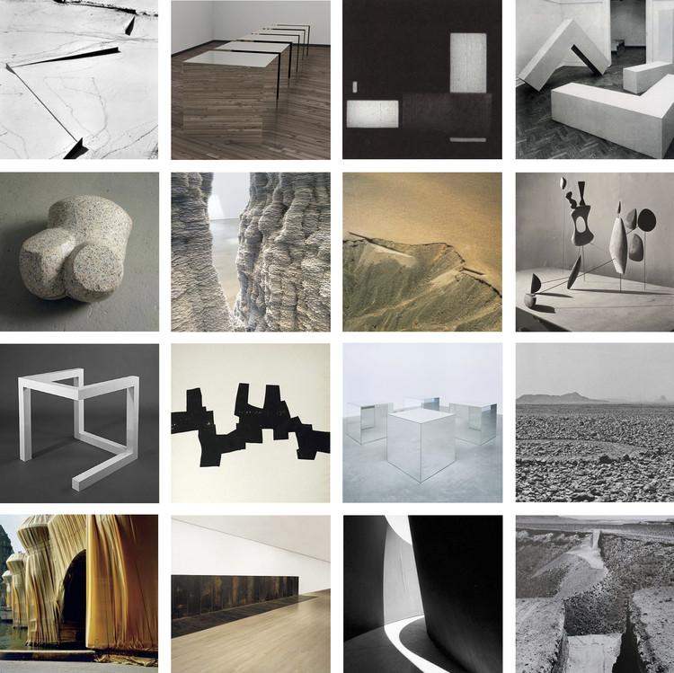 Referentes esenciales del mundo del arte para la formación de cualquier arquitecto