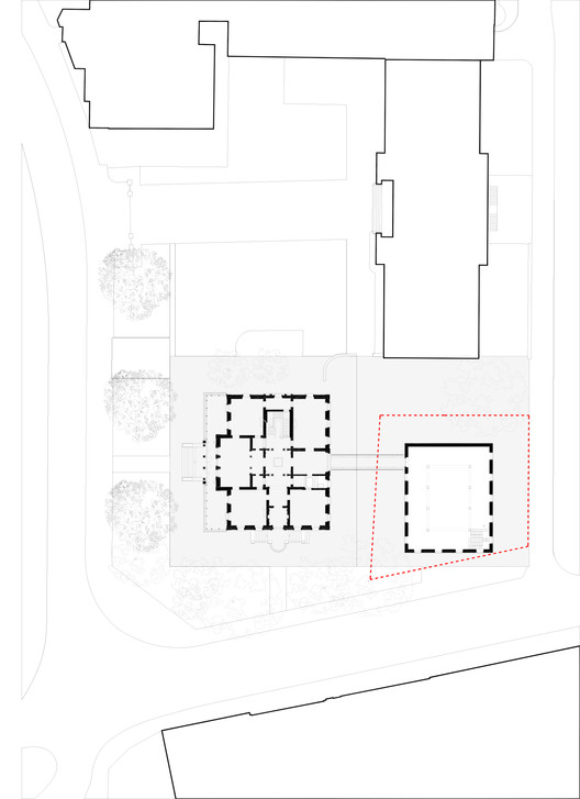 Site plan- Intervention