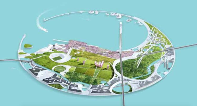3º Lugar: Morphosis. Imagen cortesía de Guallart Architects