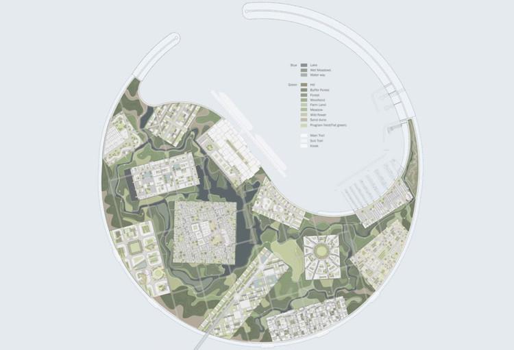 Mención honrosa: IROJE Architects & Planners. Imagen cortesía de Guallart Architects