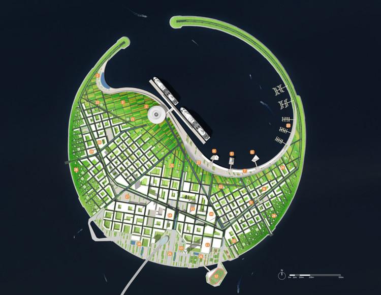 Otros concursantes: CCDI. Imagen cortesía de Guallart Architects