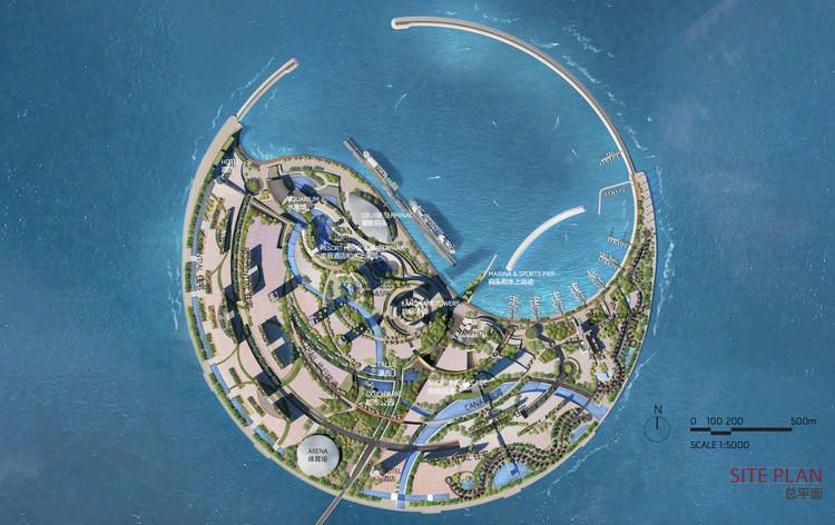 Otros concursantes: The Jerde Partnership. Imagen cortesía de Guallart Architects