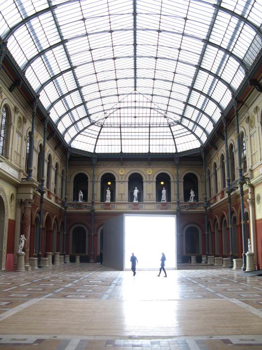 Alfredo Jaar. École nationale supérieure des beaux-arts. Image © Andrés Goldberg