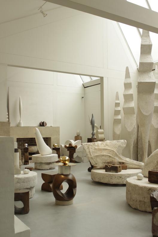 Atelier Brancusi. Image © Usuario Flickr: georgemoga bajo licencia [CC BY-NC 2.0]