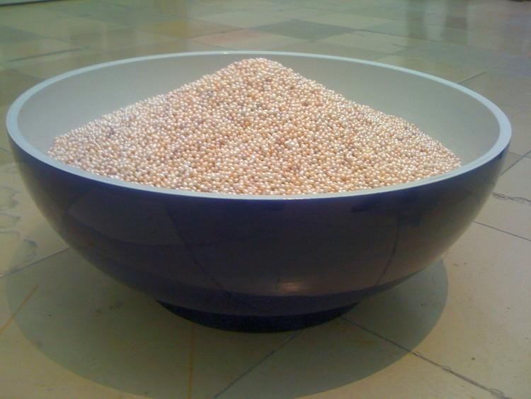 Ai Weiwei. A Bowl of Pearls, 2006. Por Pittigrilli (trabajo propio) [Public domain]. Image © Wikimedia Commons
