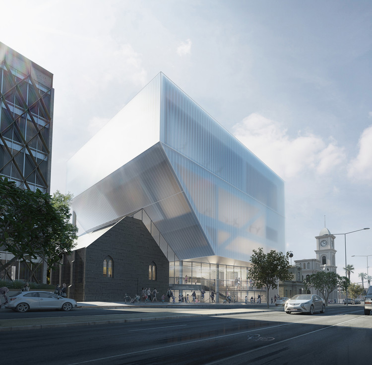 Performing Arts: Hassell Unveil Design For Geelong Performing Arts Center