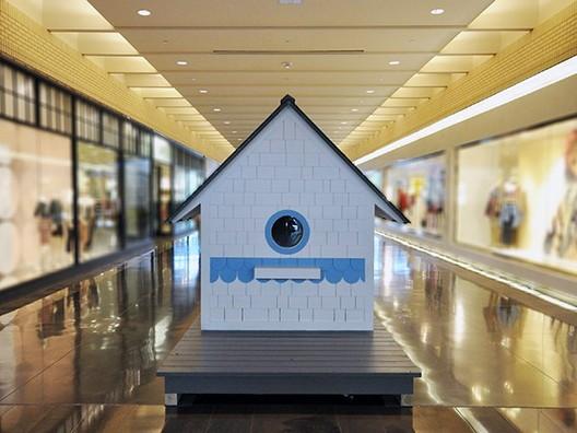 """""""Casa de pájaros"""", Bob Borson (2013). Imagen cortesía de The Life of an Architect"""