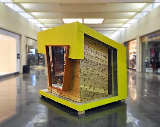 """""""Sala de lectura"""", Tyler Murph (2015) Imagen cortesía de The Life of an Architect"""