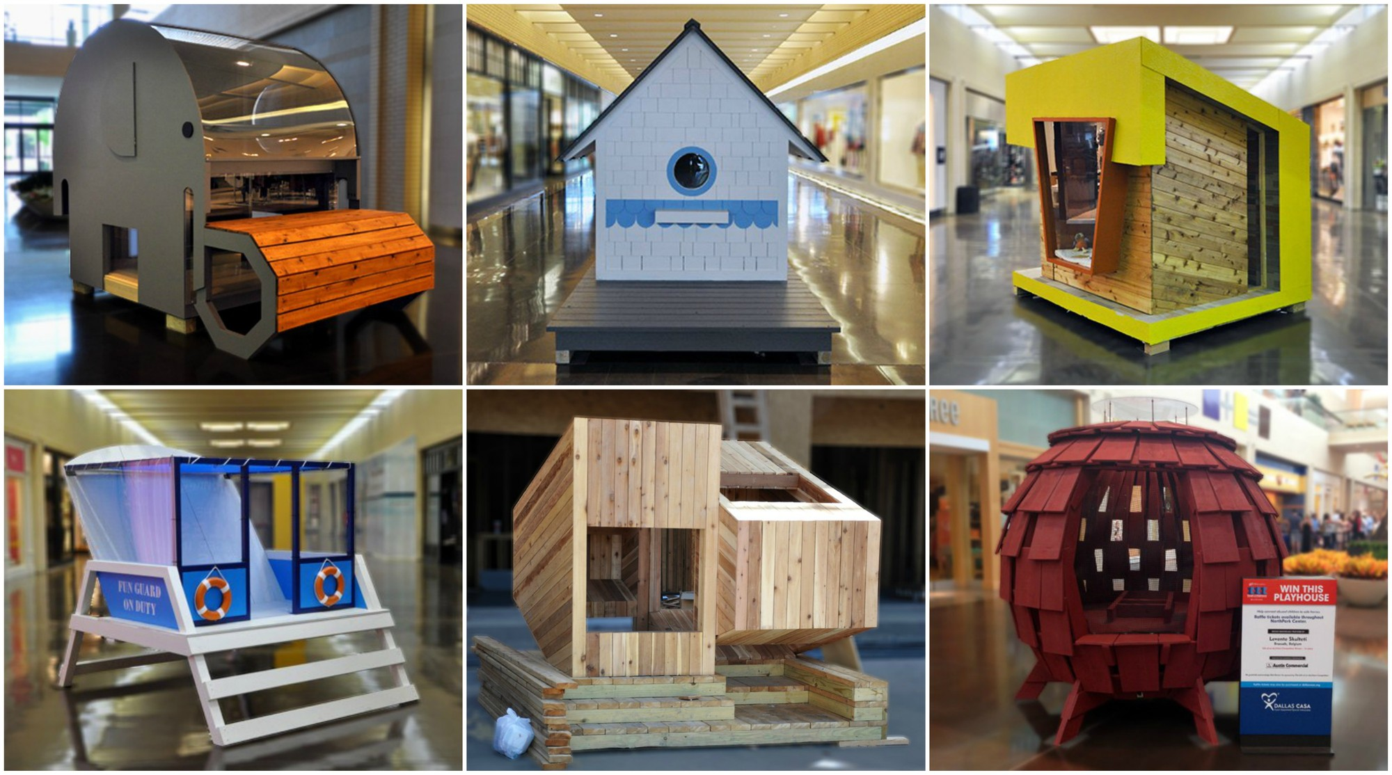 children architect playhouses competition charity archdaily money collage neglected raises architecture play