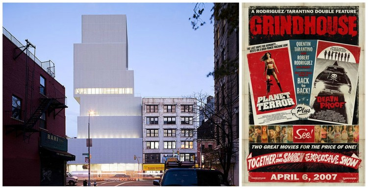 New Museum image © Iwan Baan. Grindhouse image © flickr user floydgal. Licensed under CC BY-SA 2.0.