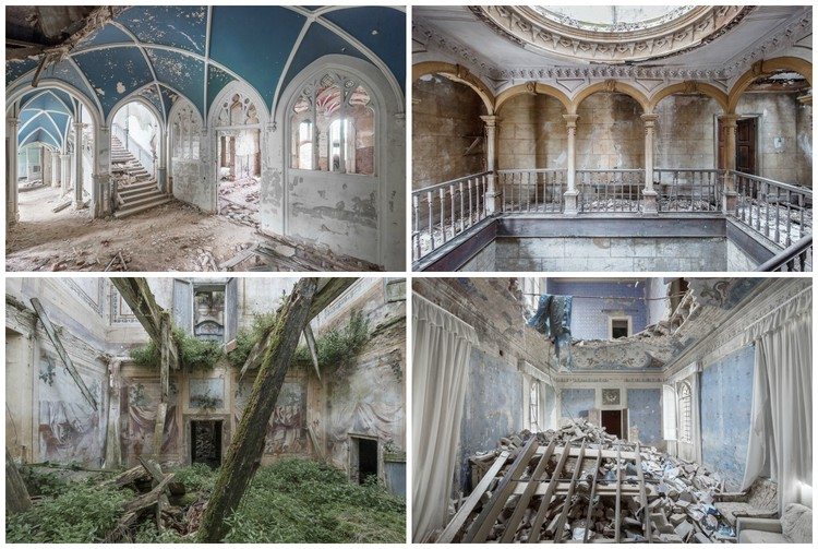 Photographer Mirna Pavlovic Captures the Decaying Interiors of Grand European Villas, © Mirna Pavlovic