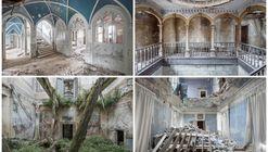 La fotógrafa Mirna Pavlovic captura el abandono de antiguas villas europea