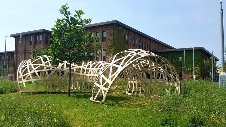 UWE Digital Design Research Unit Pavilion 2016 (University of the West of England). Image Cortesía de John Harding