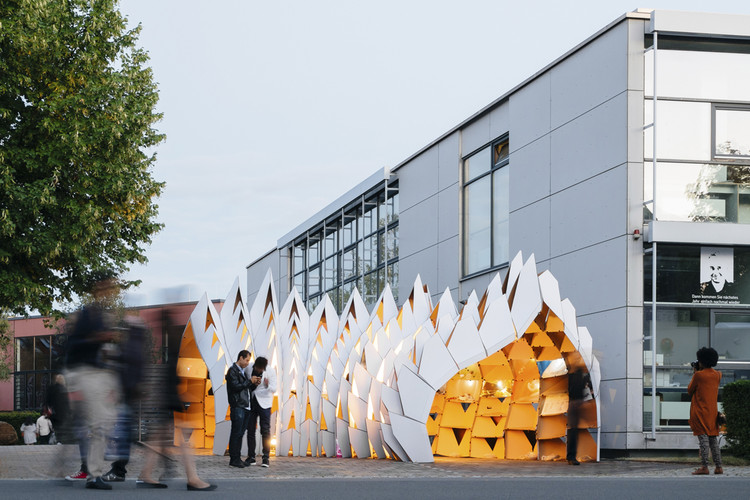 DIA 3D Jewelry Pavilion (Dessau International Architecture Graduate School). Image © Pavel Babienko
