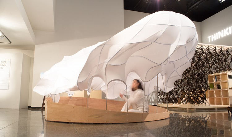 Pop-Up Shelter (University of Tokyo). Image © Jun Shimada
