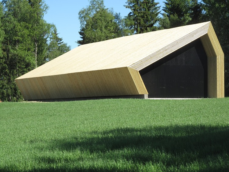 Nes Pocket Farms Barn (The Oslo School of Architecture and Design). Image Courtesy of SCS