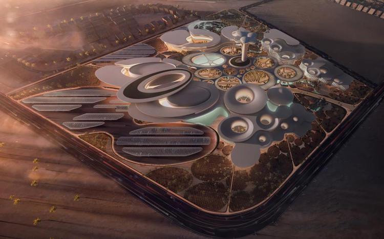 Tercer Lugar: Zaha Hadid Architects. Imagen vía Bibliotecha Alexandrina / International Architectural Competition of the Science City