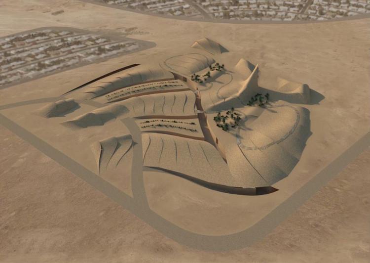 Segundo Lugar: Ngiom Partnership. Imagen vía Bibliotecha Alexandrina / International Architectural Competition of the Science City