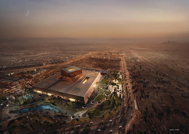 Cuarto Lugar: Gansam Architects. Imagen vía Bibliotecha Alexandrina / International Architectural Competition of the Science City