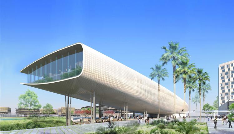VHA Architects revela diseño de plan maestro para campus universitario en Vietnam, Cortesía de As.Architecture-Studio y VHA Architects