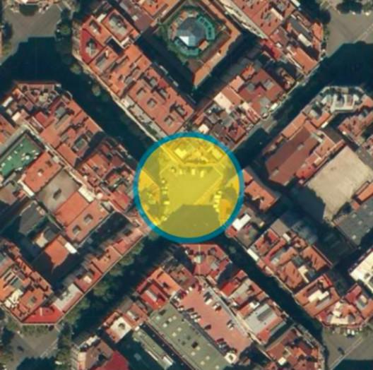 Fuente: Plan de Movilidad Urbana de Barcelona PMU 2013 – 2018. Image © Ayuntamiento de Barcelona
