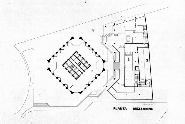 Planta mezanina