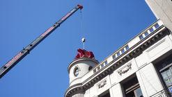 Montevideo tiene un nuevo visitante: 'Adaptation', por Federico Lagomarsino