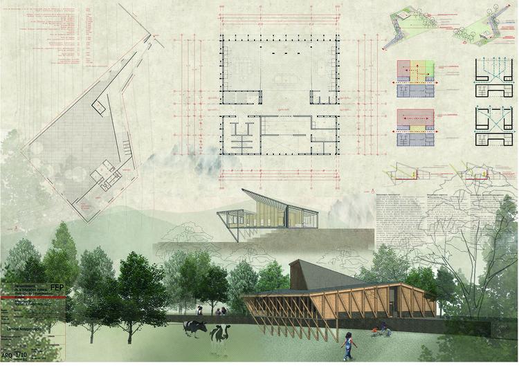 Escuela Molulco en Melipeuco / Rodrigo Duque Motta + MAPA.a. Image Cortesía de MINEDUC