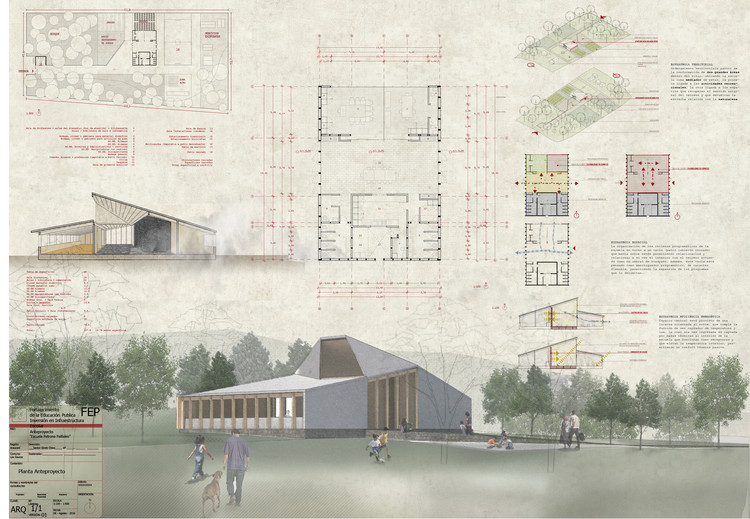 Conoce los dise os ganadores para reponer ocho escuelas - Escuela arquitectura valladolid ...