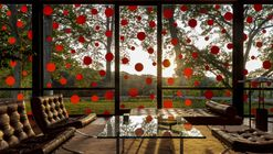 Philip Johnson's Glass House Featuring Yayoi Kusama's Exhibition Will be your New Obsession