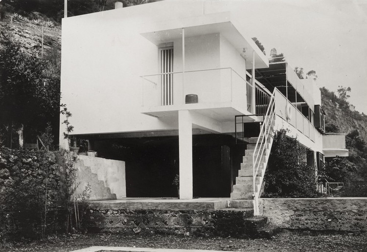 Casa E1027, Roquebrune-Cap-Martin, Francia.