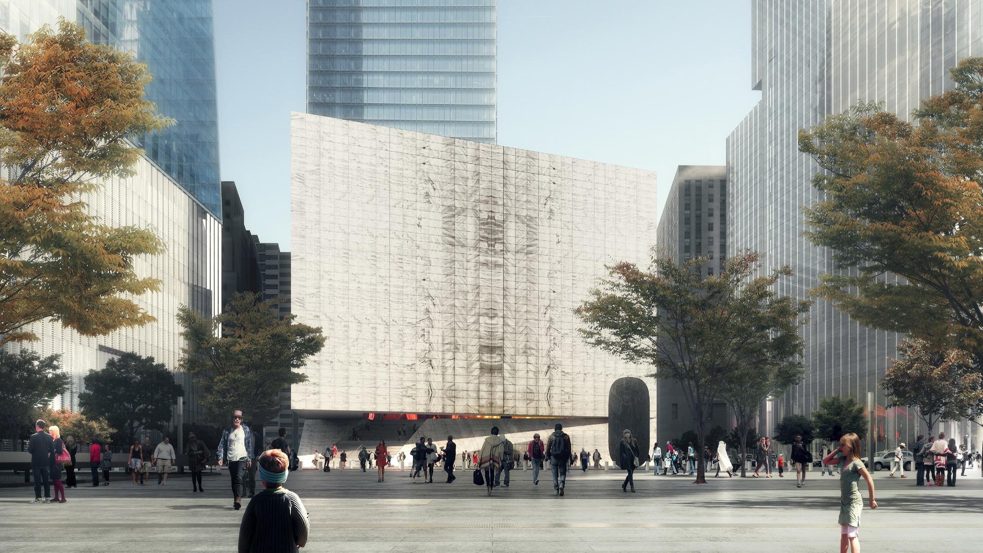 Gallery of rex reveals design of perelman performing arts for Design center new york