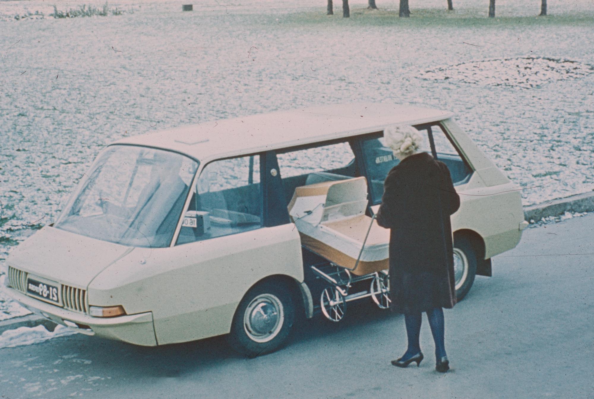 Taxi Concept Yuri Dolmatovsky VNIITE-PT ВНИИТЭ-ПТ 1964 URSS
