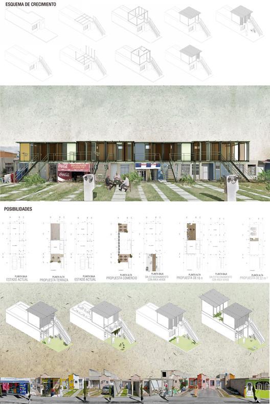 Mención especial: C-FIVS-335 (Ciudad de México) / Universidad Nacional Autónoma de México. Facultad de Arquitectura