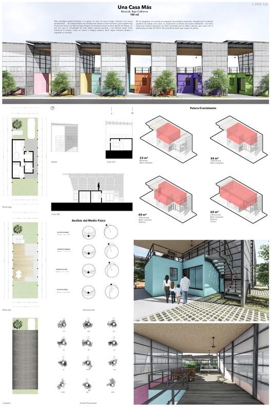 Mención especial: C-FIVS-120 (Baja California) / Universidad Autónoma de Baja California, Facultad de Arquitectura y Diseño, Campus: Mexicali