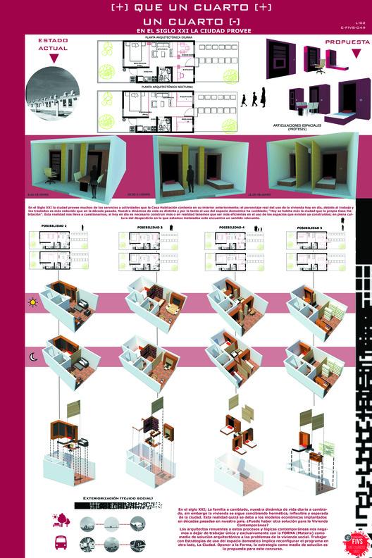 Finalista: C-FIVS-49 (Estado de México) / Universidad Autónoma del Estado de México. Facultad de Arquitectura y Diseño