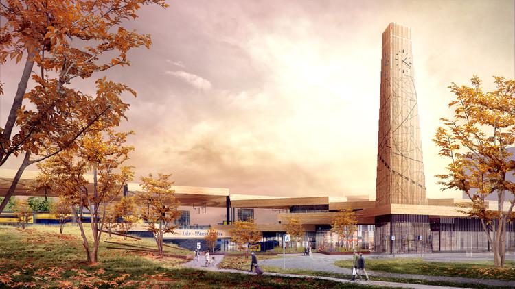 Mecanoo presenta diseño de nueva estación de trenes en Holanda, Cortesía de Mecanoo