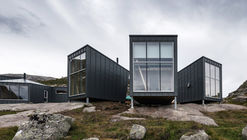 Skåpet Mountain Lodges in Soddatjørn / KOKO architects