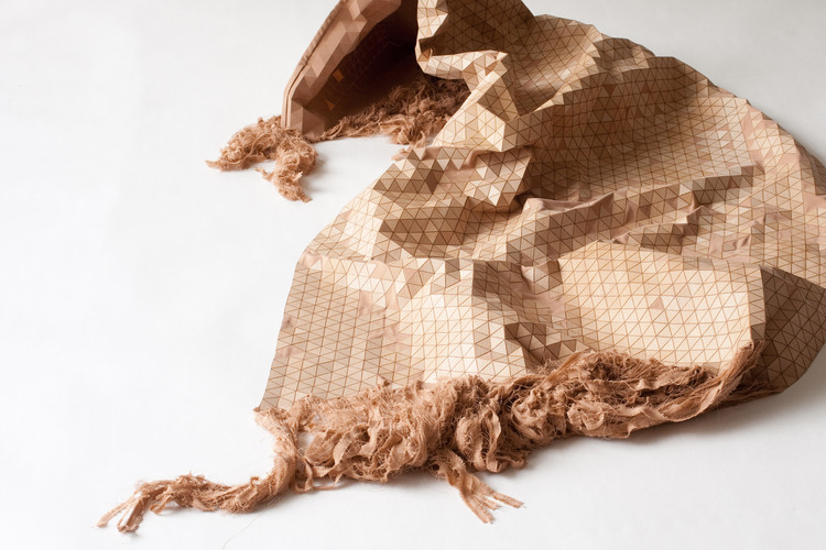 Elisa Strozyk Turns Wood Into Fabric, © STUDIO BEEN