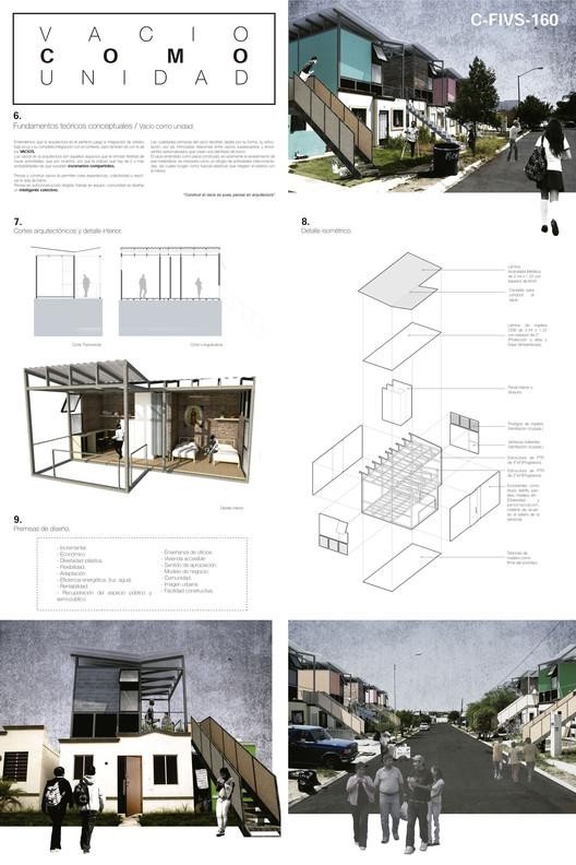Tercer lugar: C-FIVS-160 (Nuevo León) / Universidad Autónoma de Nuevo León. Facultad de Arquitectura