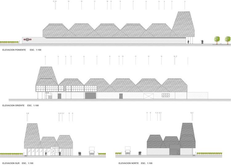 Elevaciones/fachadas