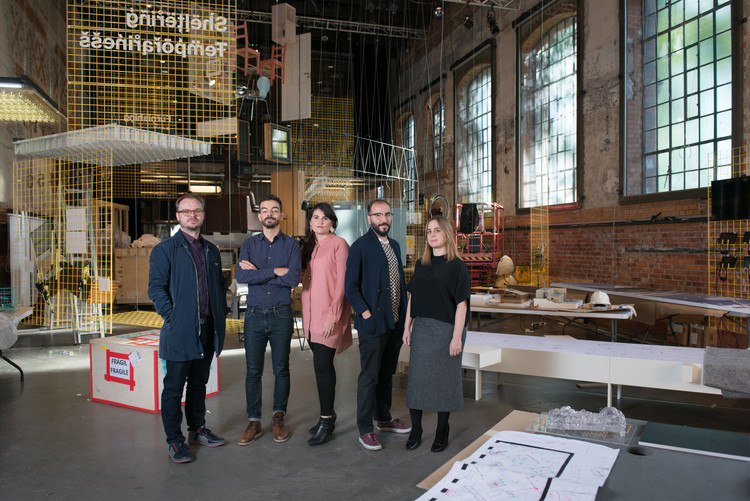 The After Belonging Agency: Carlos Minguez Carrasco, Ignacio Galán, Alejandra Navarrese Llopis, Lluís Alexandre Casanovas Blanco and Marina Otero Verzier. Image Courtesy of Oslo Architecture Triennale